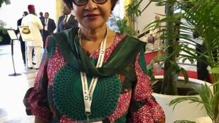 Josefa Sacko, comissária da União Africana para a Economia Rural e Agricultura