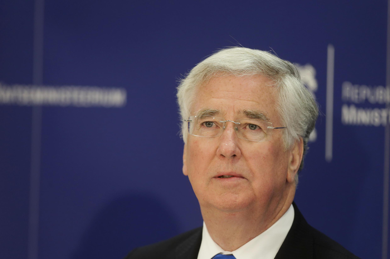 Bộ trưởng Quốc Phòng Anh Quốc Michael Fallon.