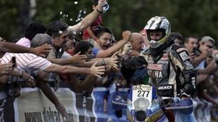 Alejandro Patronelli termine deuxième derrière son frère aîné, Marcos.