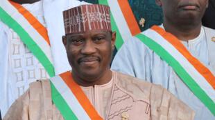 Hama Amadou, l'ancien président de l'Assemblée nationale au Niger, ici en novembre 2013.