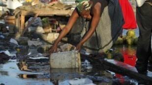 Антисанитарные условия на Гаити