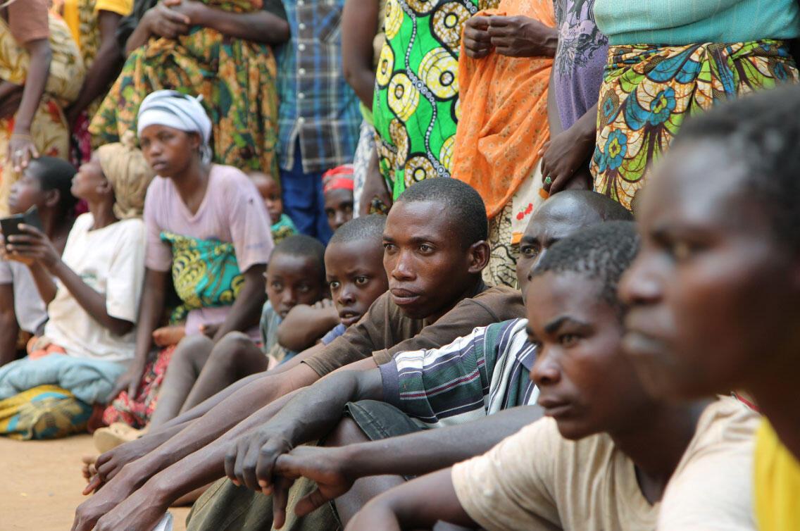 Des réfugiés burundais au Rwanda, le 10 avril 2015.