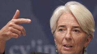 Christine Lagarde, diretora do FMI, participa lembra que os interesses econômicos de americanos e europeus estão ligados.