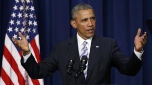 Shugaban Amurka, Barack Obama.