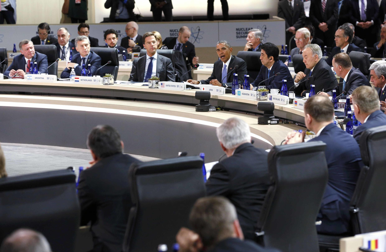 Cumbre sobre Seguridad Nuclear, el pasado 1 de abril de 2016 en Washington.