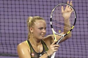 Caroline Wozniacki 'yar wasan Tennis
