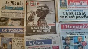 Primeiras páginas jornais 27/02/2015