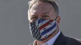 US Secretary of State Mike Pompeo, wearing a protective face mask on a visit to Greece, will head to Asia for talks focused on China and North Korea