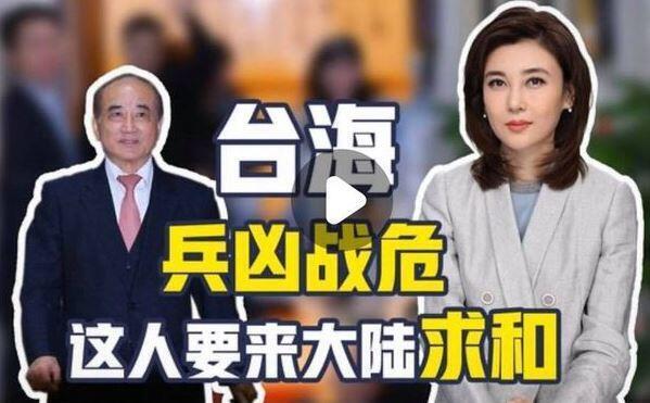 中國大陸官媒央視評台立法院前院長王金平到訪涉事視頻截圖