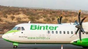 Aeronave da Binter Cabo Verde