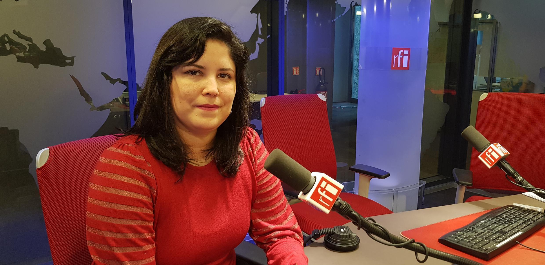 Tania Prado, presidente do SINDPF-SP