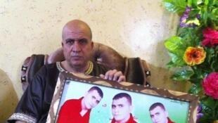 Fathi Yacine, père de Abed, 24 ans, qui s'est suicidé en avril dernier.