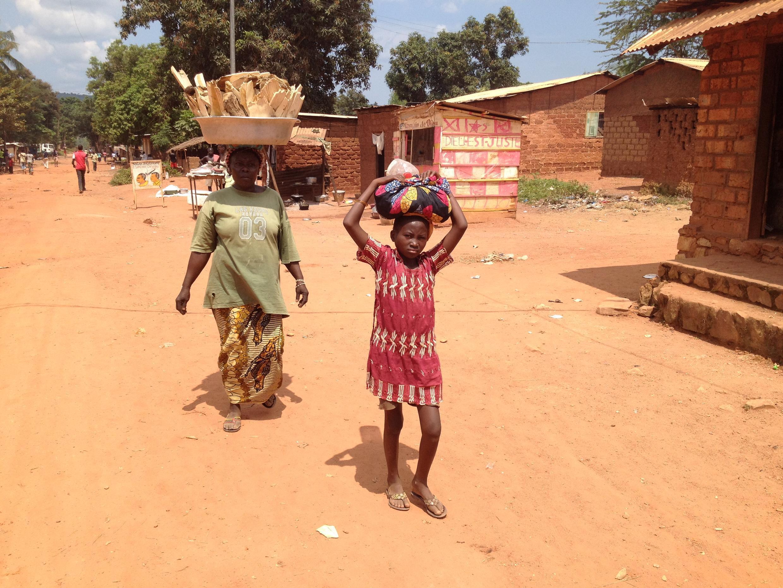 Boy-Rabe, victime de nombreuses violences de la Seleka, fief ensuite des anti-balakas retrouve le calme d'avant le crise.