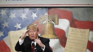 Donald Trump es el favorito para ganar las primarias republicanas, según las encuestas.