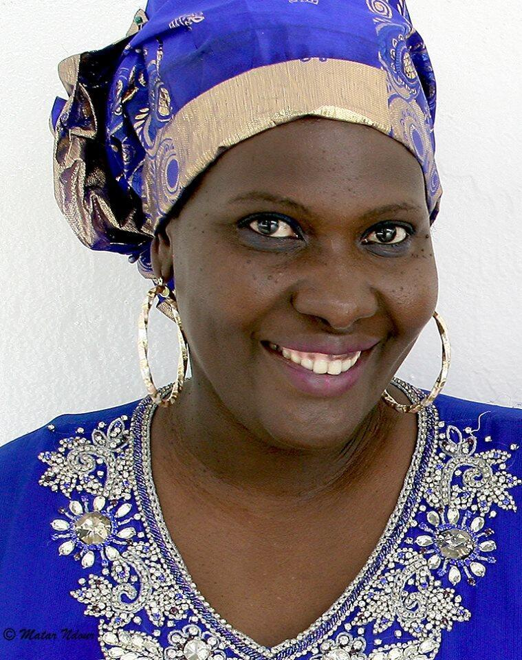 Aminata Sophie Dieye auteure du roman «La nuit est tombée sur Dakar».