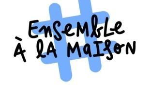 Photo du logo #ensembleàlamaison.