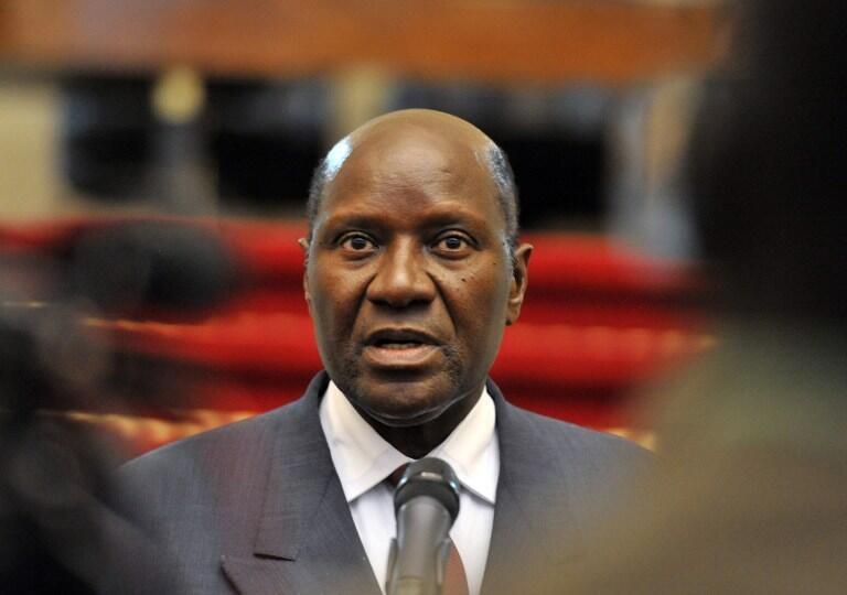 Daniel Kablan Duncan (hapa ilikuwa Novemba 21, 2012 huko Abidjan).