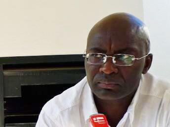 Achille Mbembe, professeur d'histoire et de sciences politiques à l'université Witwatersrand de Johannesburg.