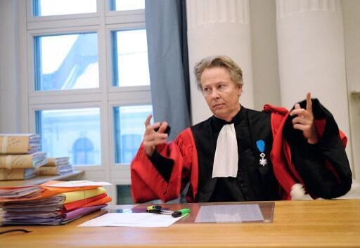 Luc Fremiot, l'avocat général mène l'accusation, il va plaider le fait qu'Alexandra Lange est en état de légitime défense au moment des faits, alors qu'ele a un couteau et que son mari n'est pas armé. Photo : juin 2009