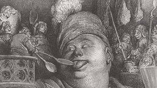 Гюстав Доре, иллюстрация к роману Франсуа Рабле «Пантагрюэль»