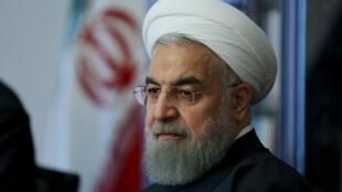 El presidente iraní Hasan Rohani, en Teherán, el pasado 22 de febrero de 2016.