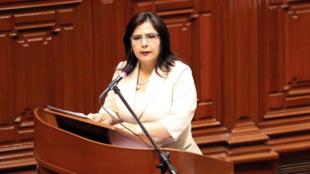 Ana Jara, primera ministra peruana.