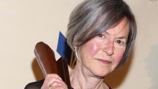 American poet Louise Glück