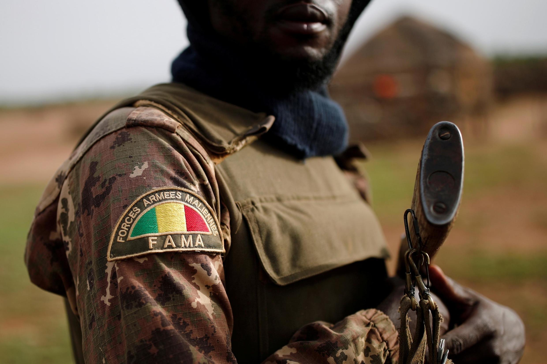 Mwanajeshi wa jeshi la Mali
