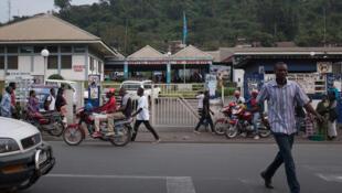 Hôpital provincial du Nord-Kivu, Goma, République démocratique du Congo, juillet 2016.