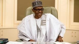 Rais wa Nigeria Muhammadu Buhari.