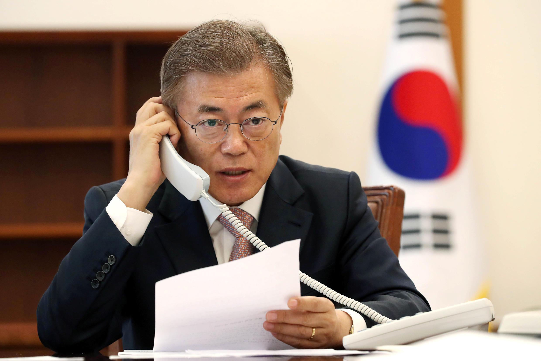 ប្រធានាធិបតី កូរ៉េខាងត្បូង Moon Jae-in