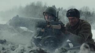 Scène du film <i>Les 28 de Panfilov, </i>.