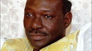 L'ancien président malien Moussa Traoré en 1990.