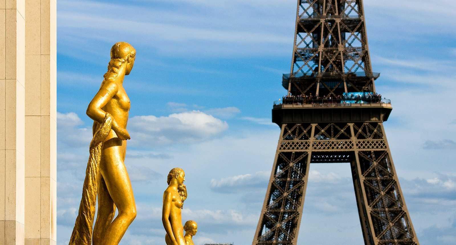پاریس، نمایی از برج ایفل