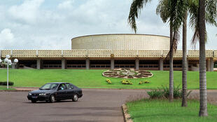 Le Parlement ivoirien, le 13 juin 2001 à Yamoussoukro (illustration).