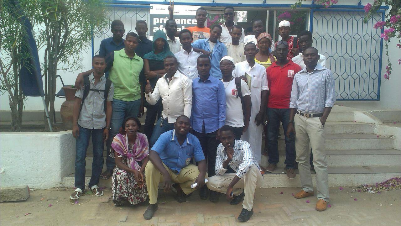 Le Club RFI Ndjamena (Tchad).
