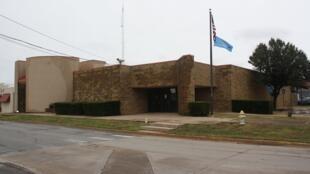 Fachada da delegacia de polícia de Duncan, em Oklahoma