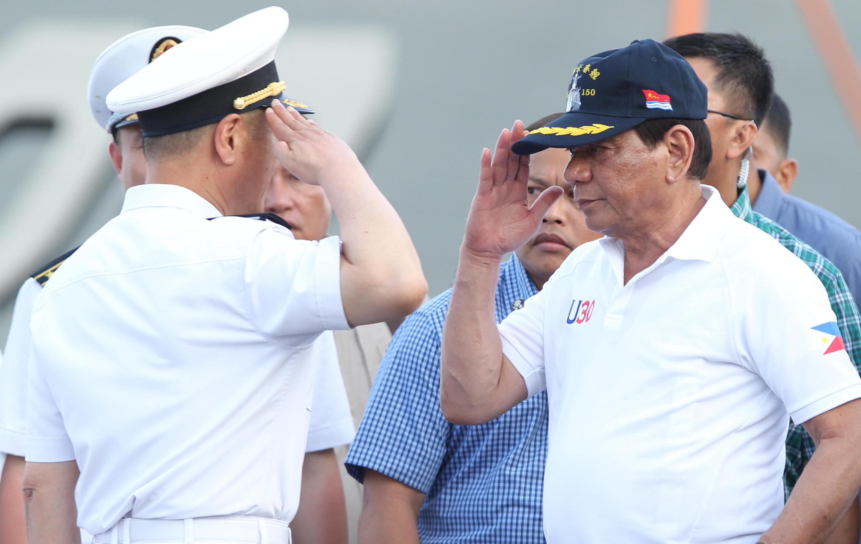 杜特爾特大讚中國,並稱與中國國家主席習近平互為朋友