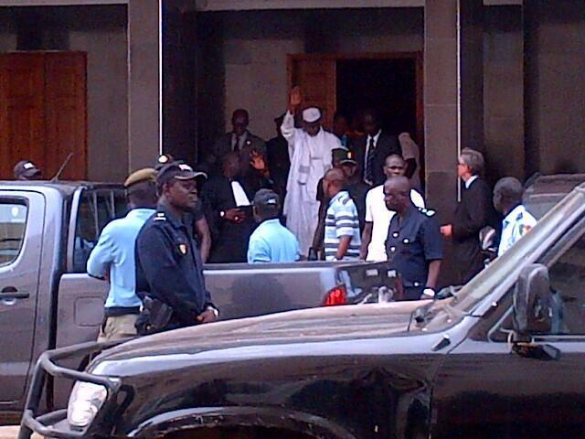 Hissène Habré, le mardi 2 juillet 2013.