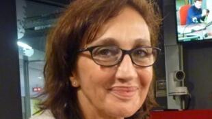 La actriz y directora Sivia Munt en los estudios de RFI.