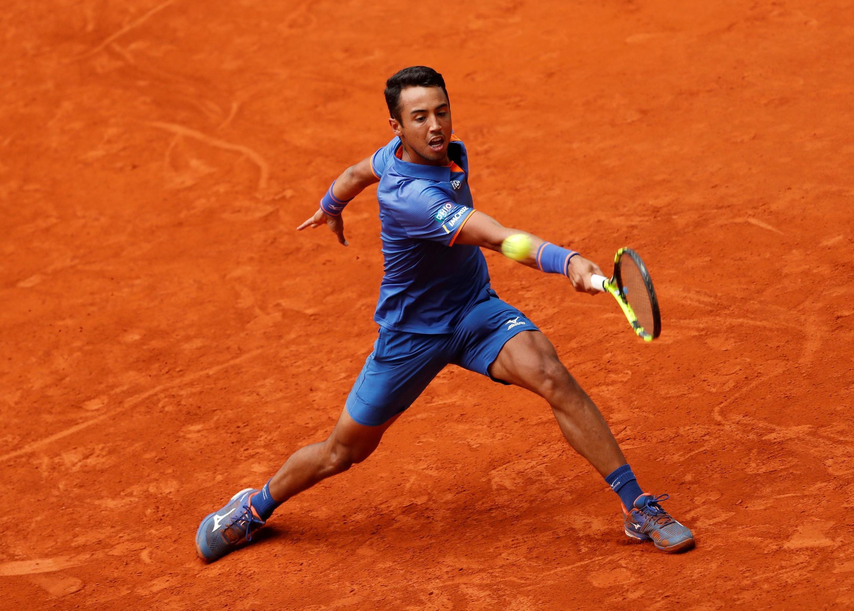 El tenista boliviano Hugo Dellien se estrena en un Grand Slam con victoria tras pasar la primera rueda de Rolnad Garros 2019 ante el indio Prajnesh Gunneswaran en 3 sets ( 6/1 6/3 6/1)