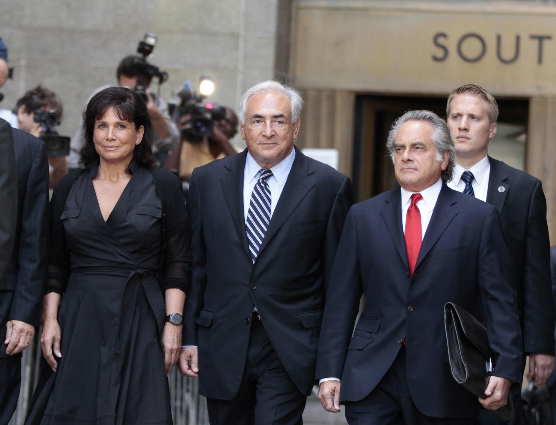 Dominique Strauss-Kahn tare da mai dakin shi, Anne Sinclair