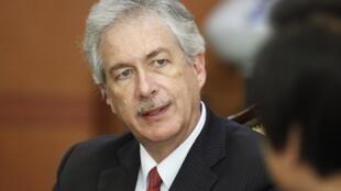 William Burns secrétaire d'Etat américain adjoint, a été l'un des négociateurs à tenter de trouver une solution à la crise égyptienne.
