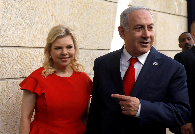 Le Premier ministre Benyamin Netanyahu et son épouse Sara, le 14 mai 2018, à Jérusalem.