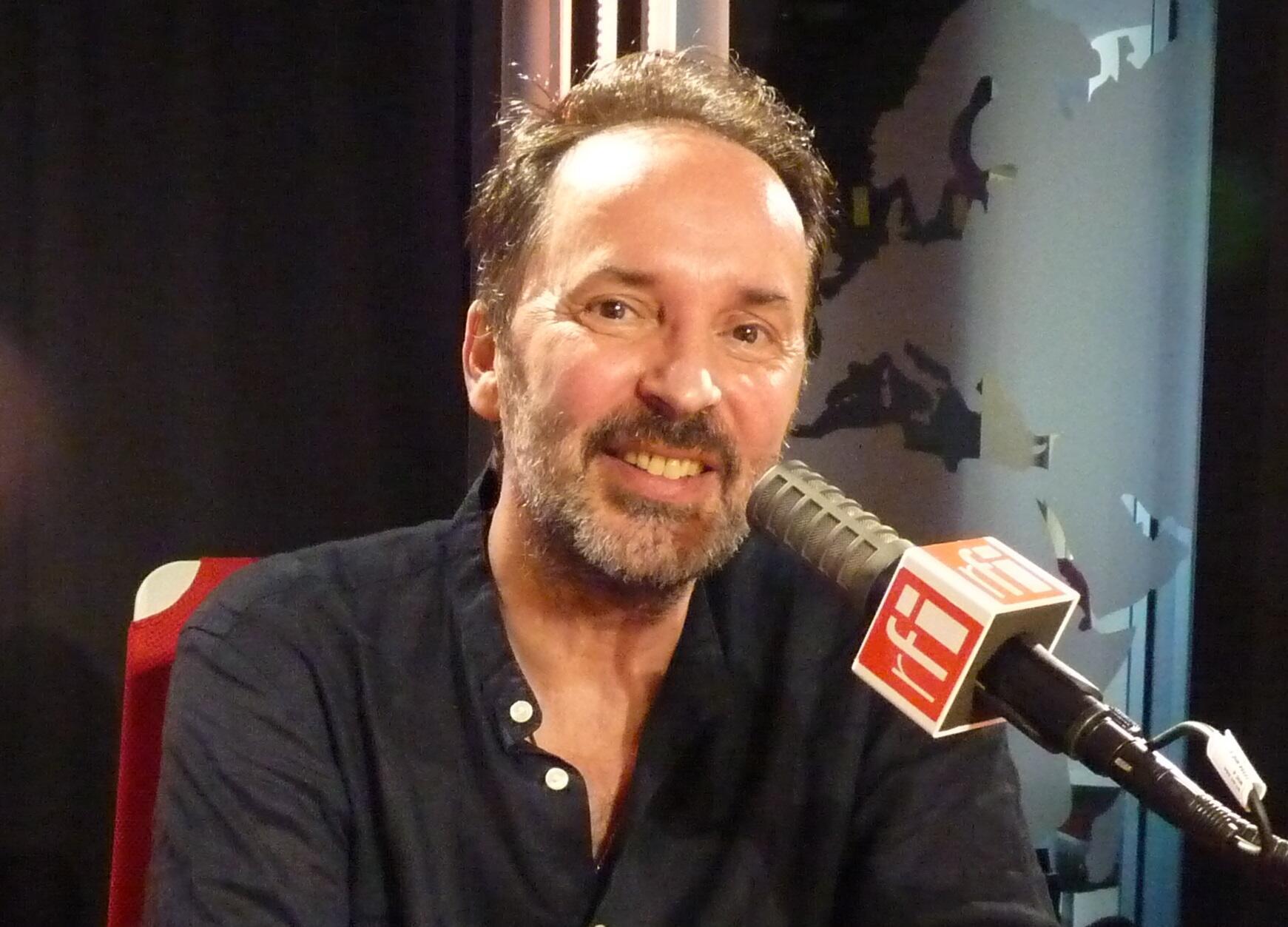 El saxofonista francés David Marcos en RFI