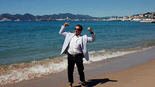 Schwarzenegger em Cannes para promover filme sobre Jacques Cousteau
