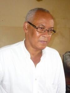 Eric Dupuy, porte-parole du candidat à la présidentielle togolaise, Jean-Pierre Fabre.