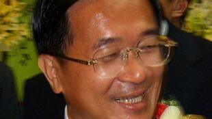 台湾前总统陈水扁(2007年10月).