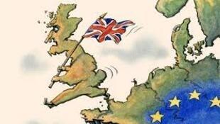 """英国""""脱欧""""公投中民众也曾为是否脱欧而感到纠结"""