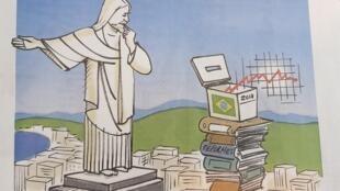 Charge da cartunista Françoise Ménager no Les Echos desta quarta-feira (2).